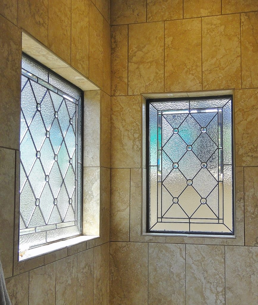Bathroom Stained Glass shower