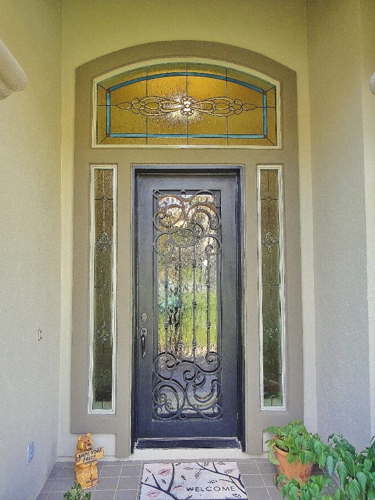 Entryway Stained Glass Tall