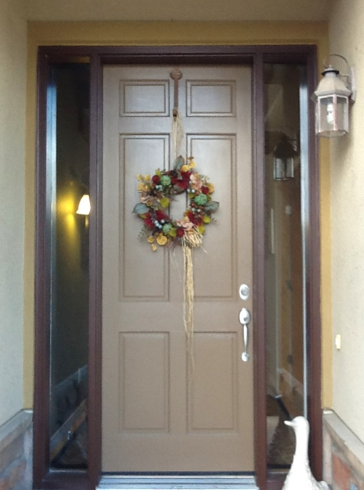 Entryway Stained Glass christmas