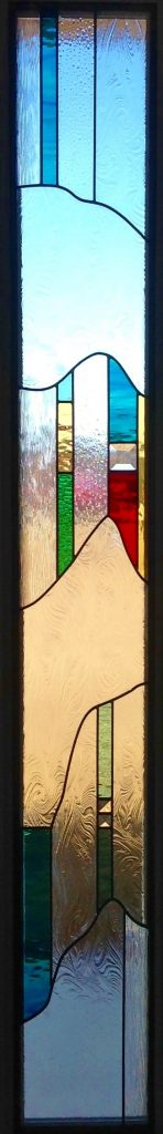 Sidelight Stained Glass skinny