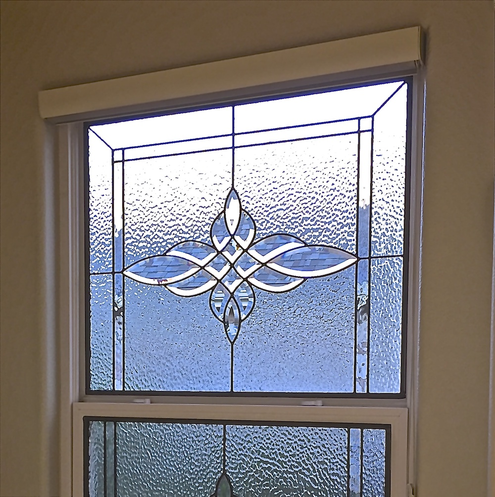 Sidelight Stained Glass top