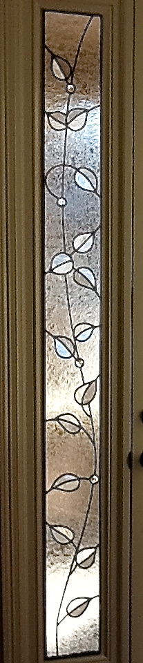 Sidelight Stained Glass very skinny
