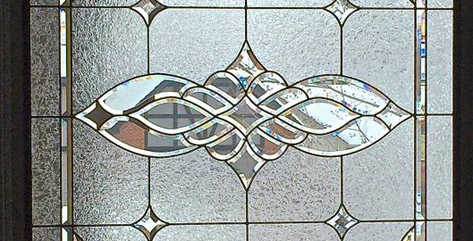 custom stained glass process